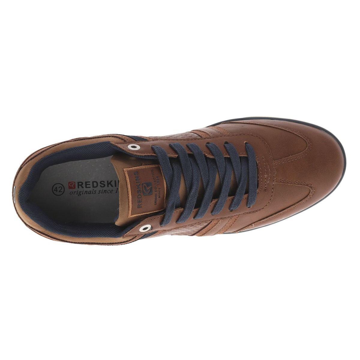 Derbies Illic homme marron REDSKINS