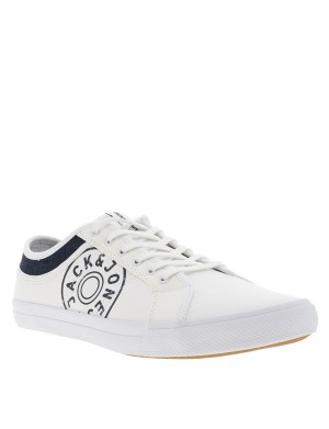 Baskets Ross Canvas homme blanc