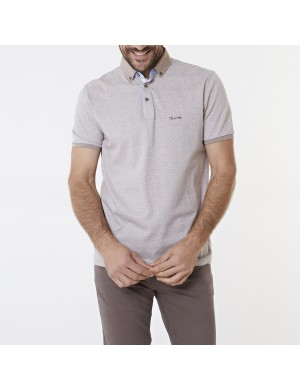 Polo homme marron