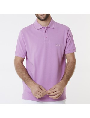 Polo homme violet